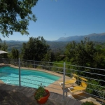 Villa with superb view and pool