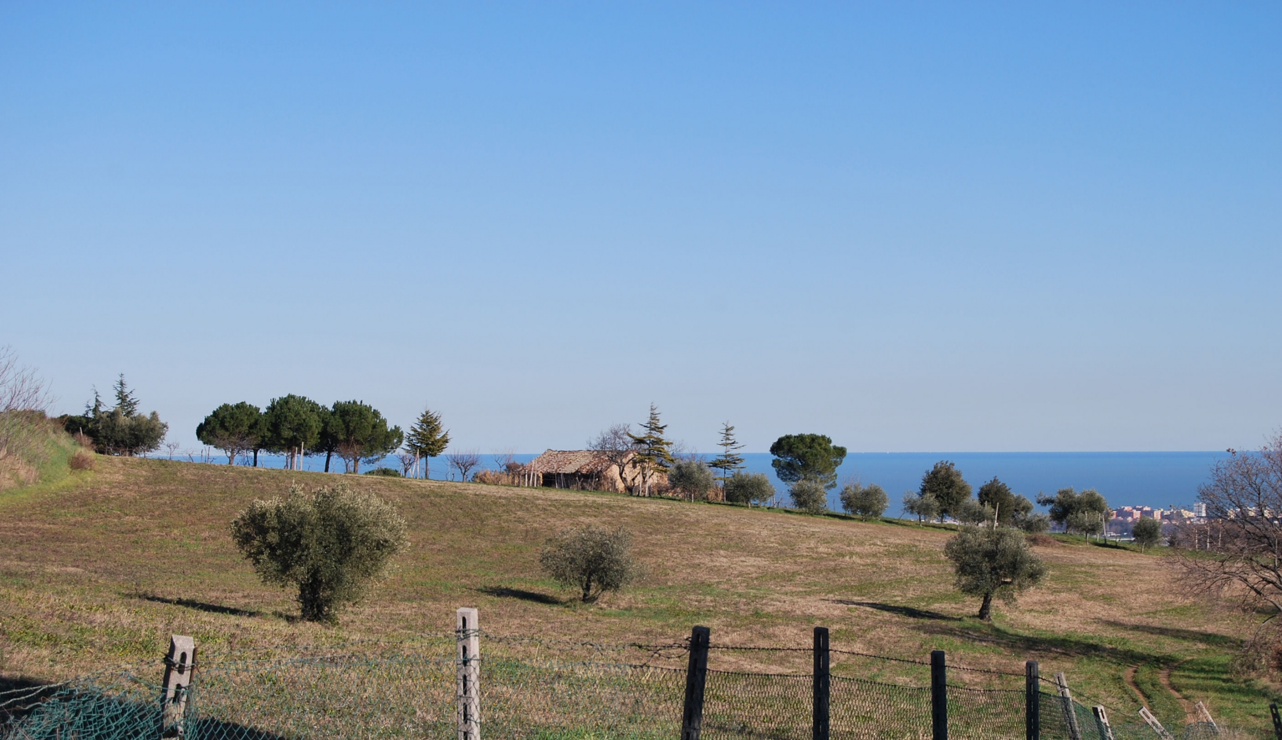 Countryhouse with seaview