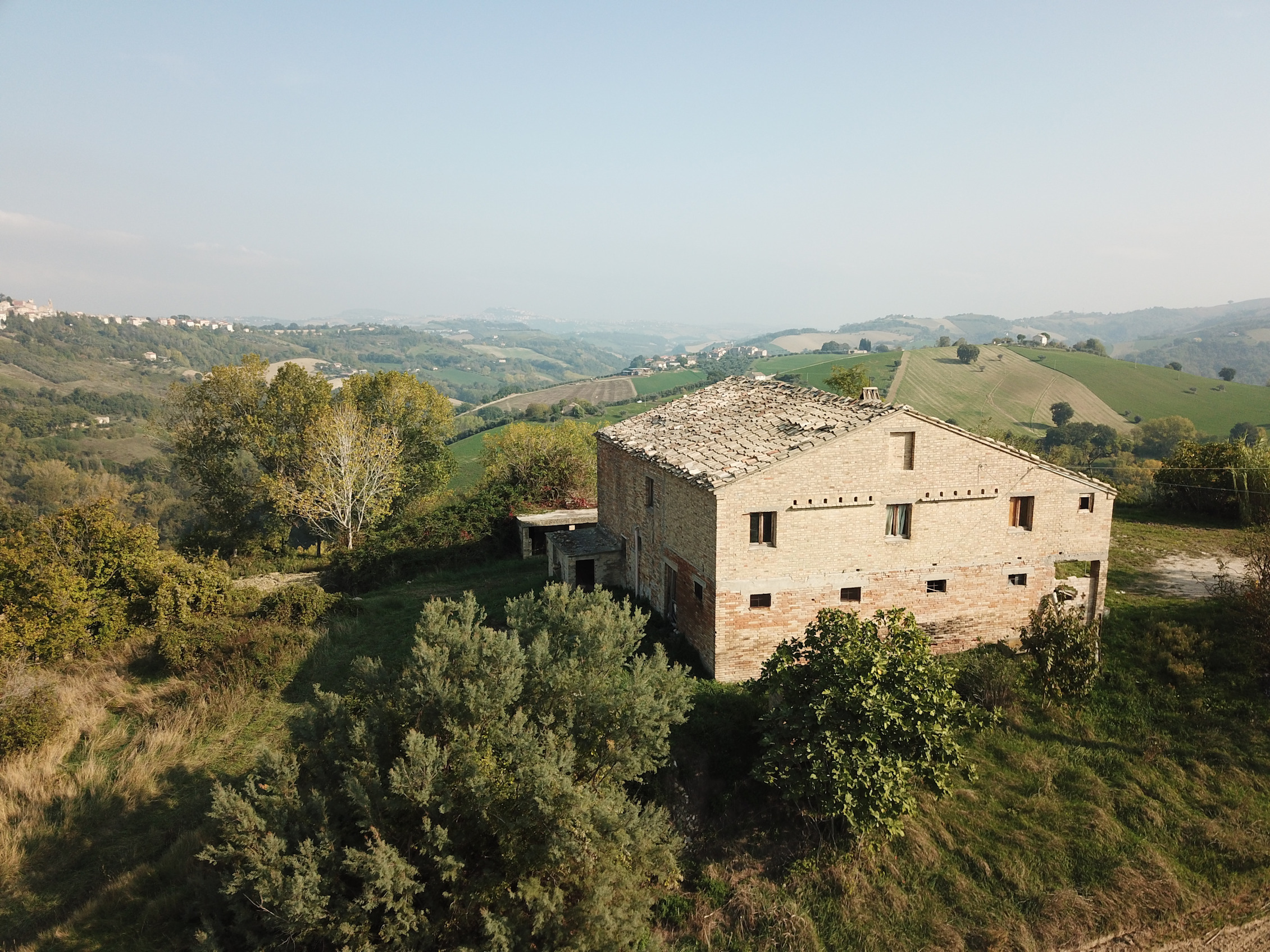 Country house with Sibillini Mountains view